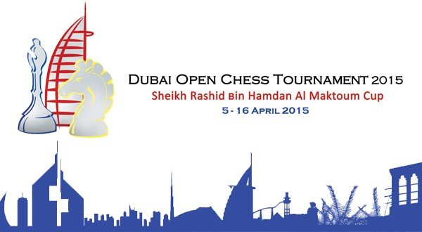 17th Dubai Open Chess Tournament to be held in April, 2015