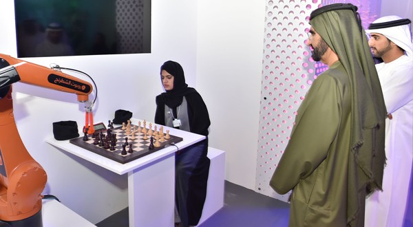 Dubai Chess contributes to the museam of future government services