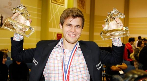 Magnus Carlsen reigns supreme in Dubai Chess