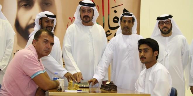 انطلاق بطولة الوفاء لزايد الشطرنجية بمشاركة 166 لاعباً ولاعبة