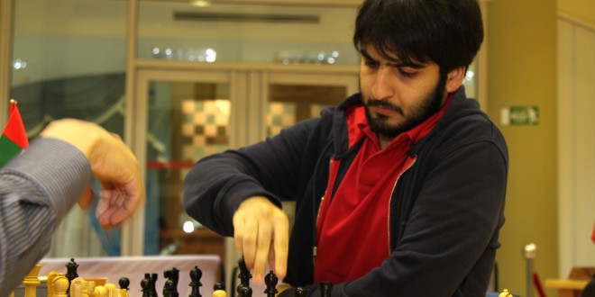 UAE's GM Salem A.R. Saleh wrests solo leadership at the 12th Allegiance to Zayed Chess Tournament