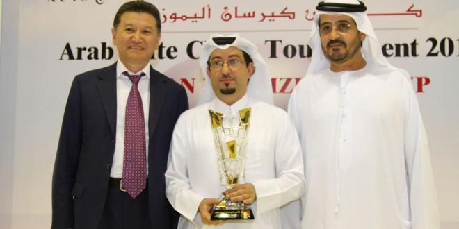 GM Mohammed Al-Sayed of Qatar maintains unbeaten slate in winning the Arab Elite Chess Championship 2015