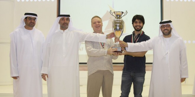 """Sharjah 1"" score rare sweep to dominate Dubai Cup Blitz Chess Team Tournament"