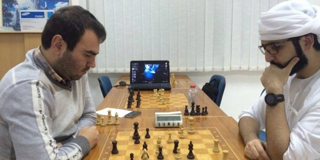 Four tied for the lead heading into the homestretch of Dubai Open Chess Tournament
