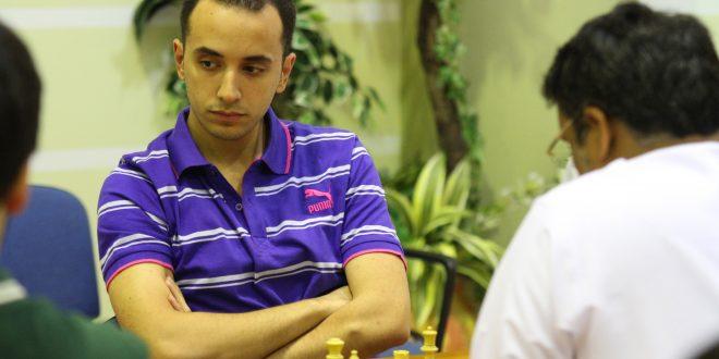 الفرعون المصري باسم أمين يصعد لصدارة بطولة «الوفاء لزايد» الرمضانية