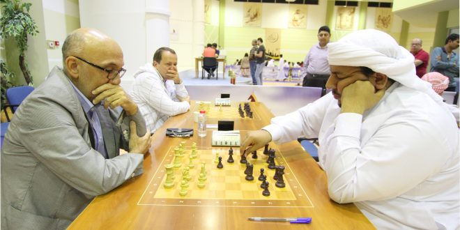 GM Amin maintains slim lead heading into the final round of the Allegiance to Zayed Chess Tournament