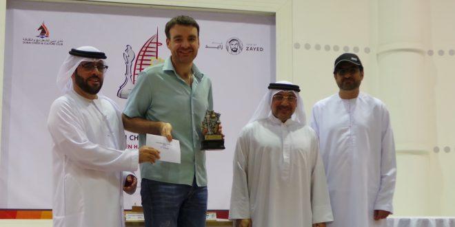 Dubai Open Blitz Chess Tournament 2018