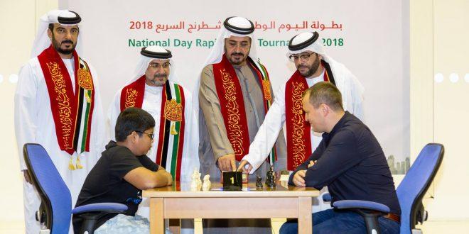 مشاركة قياسية في بطولة اليوم الوطني للشطرنج بدبي