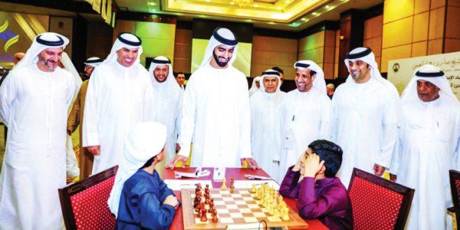 انطلاق منافسات كأس رئيس الدولة للشطرنج بعجمان