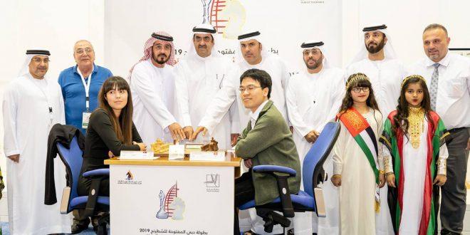 افتتاح أنيق لبطولة دبي الدولية المفتوحة للشطرنج