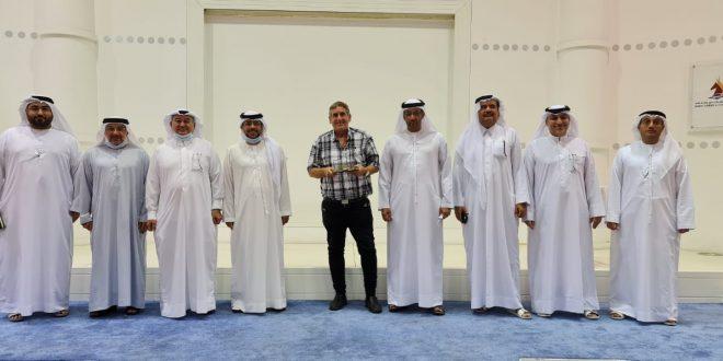 رئيس الاتحاد الإسرائيلي يزور «دبي للشطرنج»